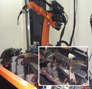 机器人底盘焊接